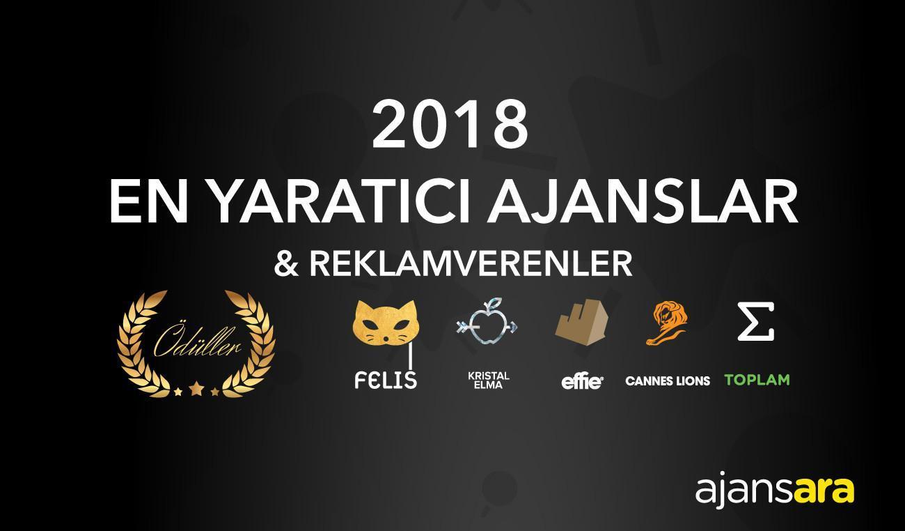 2018 En Yaratıcı Ajanslar & Reklamverenler 2018 En yaratıcı ajanslar ve reklam verenler 1 Ajansara