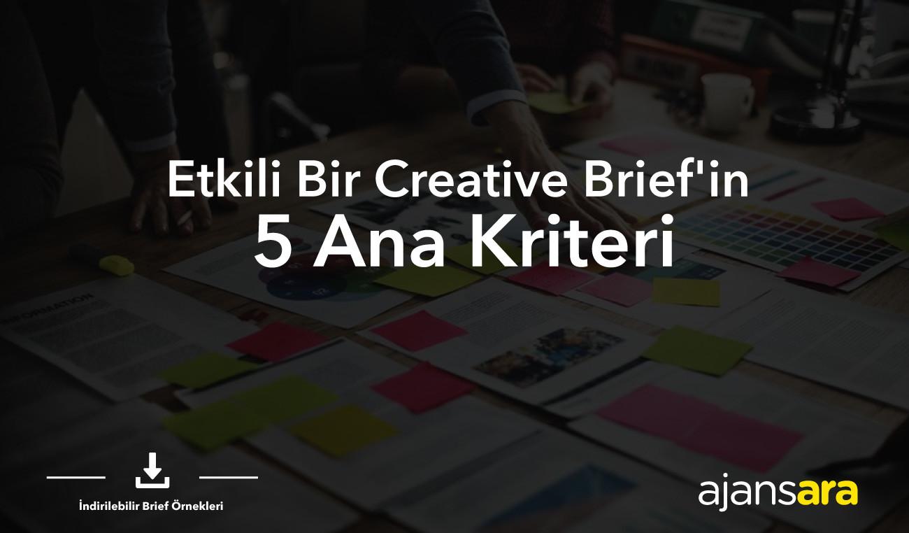 Creatvie kreatif brief brif