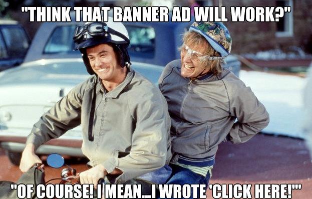 banner reklamlar salak ile avanak motor uzerinde guluyorlar Dijital Reklam Nedir? Ajansara