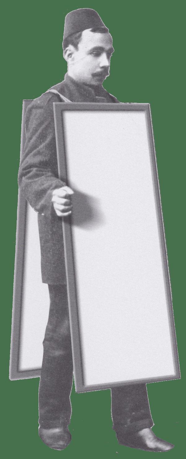 ilancilik tarihi French sandvich adam billboard adam kalite adam2